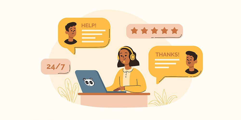 Chế độ chăm sóc khách hàng trực tuyến