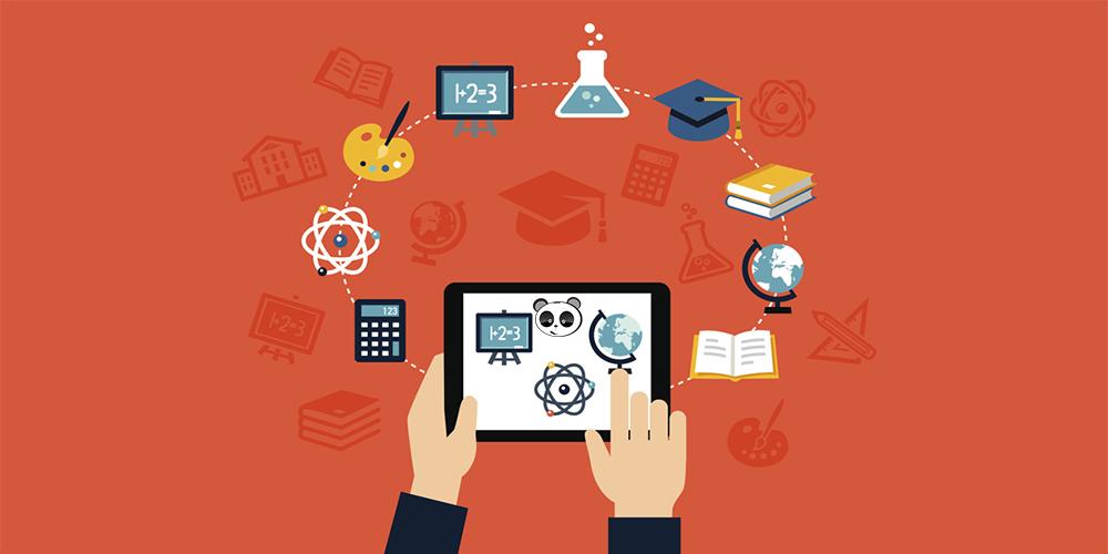 Kết hợp học trực tuyến cùng ứng dụng học tập