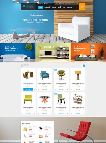 Thiết kế website nội thất, kiến trúc - công ty thiết kế website Diễn Châu