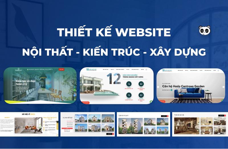 thiết kế web nội thất chuẩn SEO