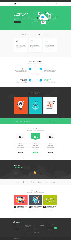 thiết kế website công ty quảng cáo
