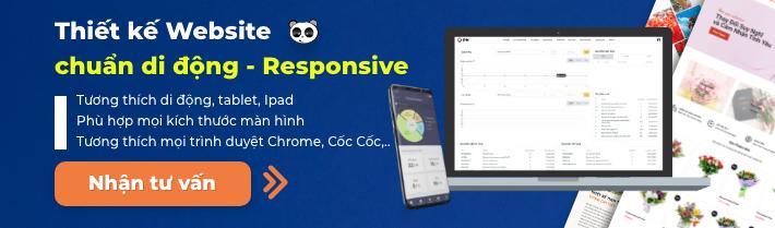 Tư vấn Thiết kế website responsive