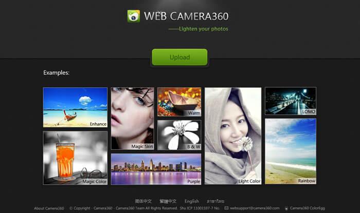 Cách chỉnh sửa ảnh online 360