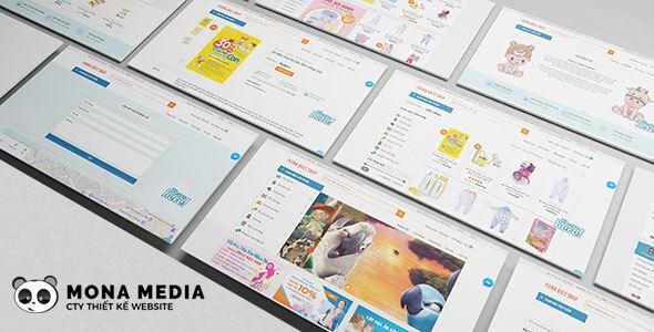 Mẫu website đẹp, theme và template đẹp các ngành nghề khác nhau