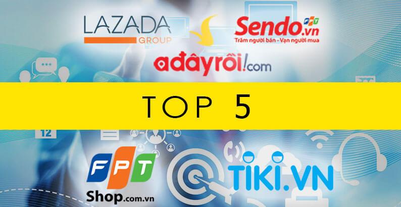 top-5-website-thuong-mai-truc-tuyen