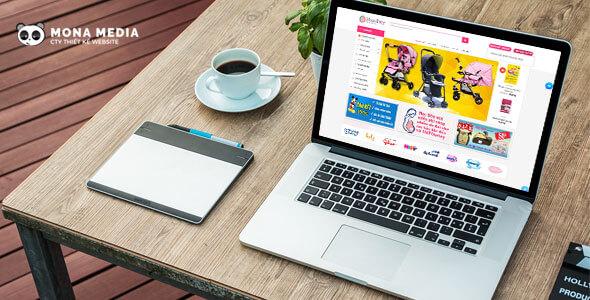 Mẫu website bán hàng đa năng