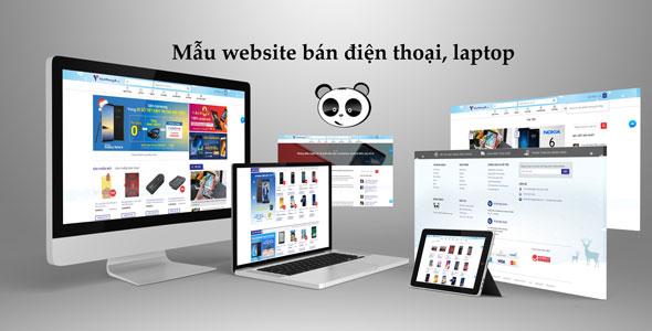 Mẫu website giống Viễn Thông A