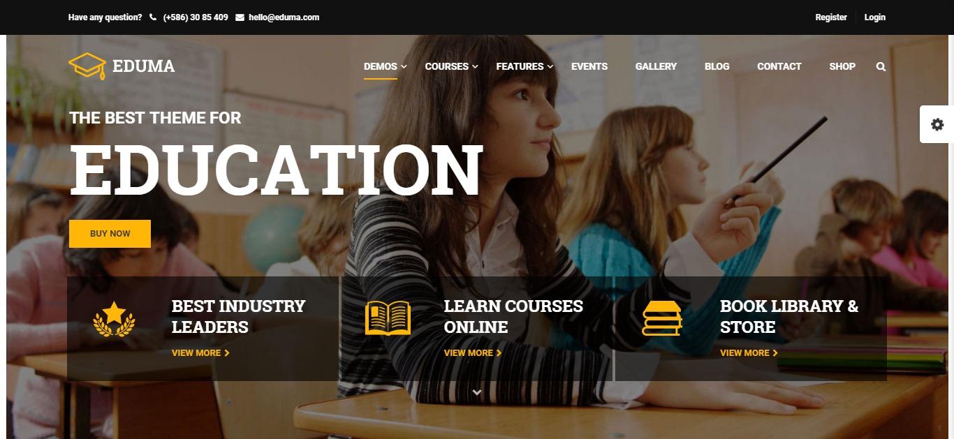 Công nghệ thiết kế website giáo dục