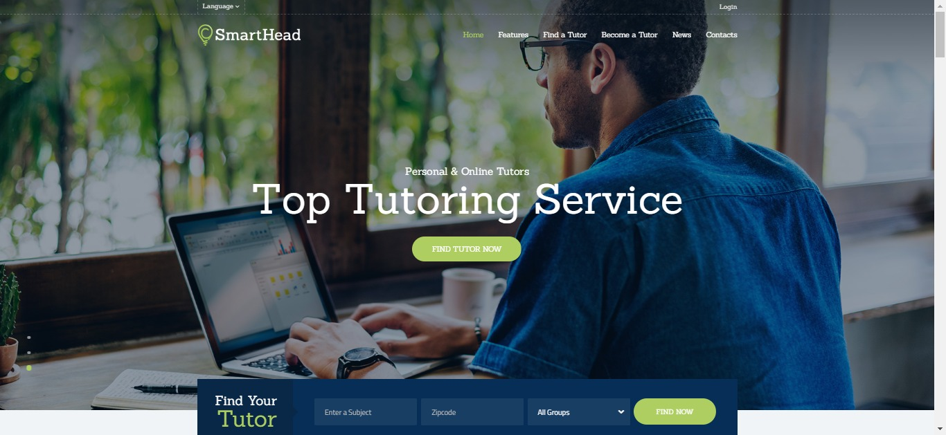 Thiết kế website gia sư