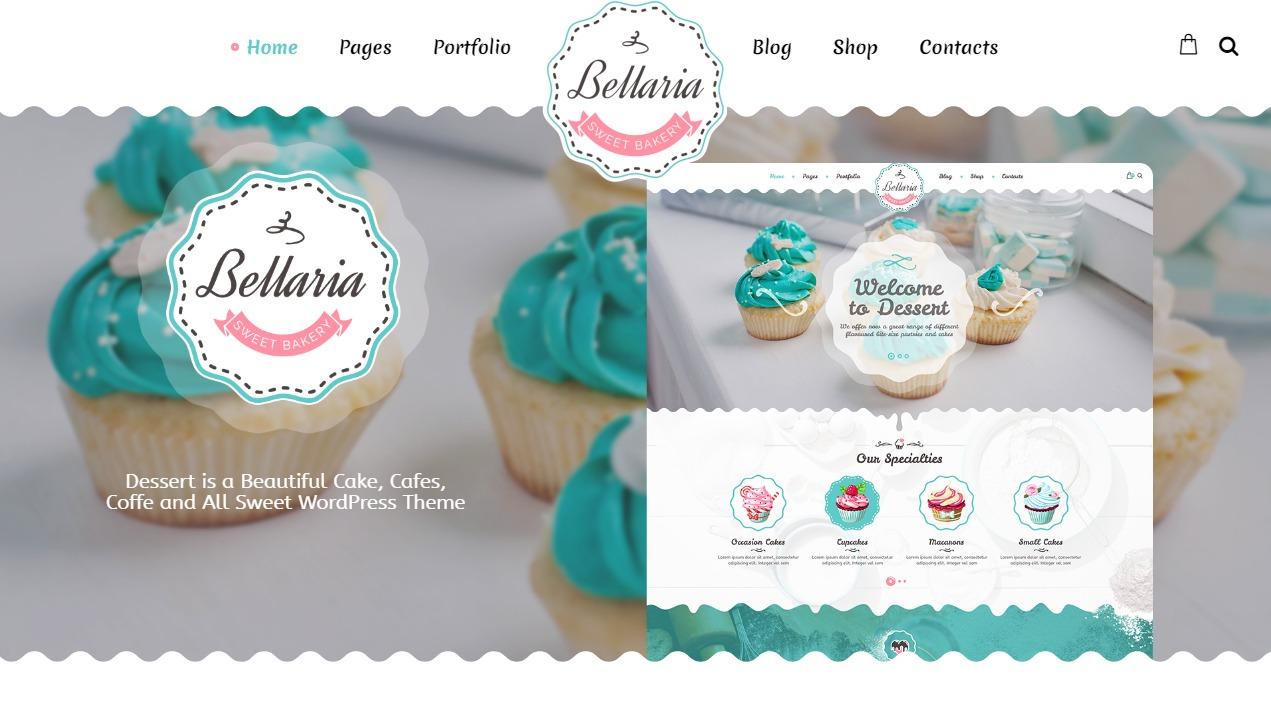 Thiết kế website cửa hàng bánh - cửa hàng kem