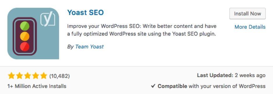 Cài đặt và kích hoạt Yoast SEO.