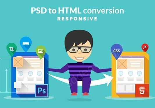 Dịch vụ cắt PSD sang HTML.