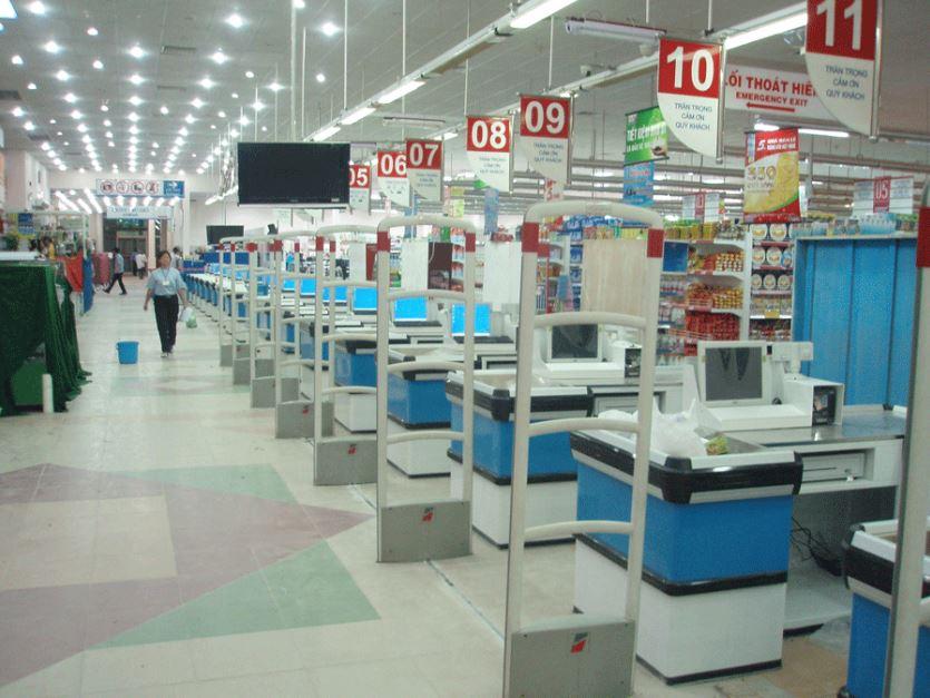 Phần mềm tính tiền trong siêu thị.