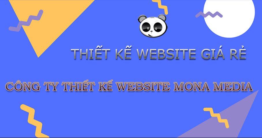 Thiết kế web giá rẻ.
