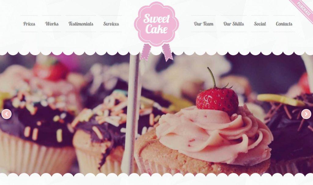 Thiết kế web tiệm bánh - tiệm kem