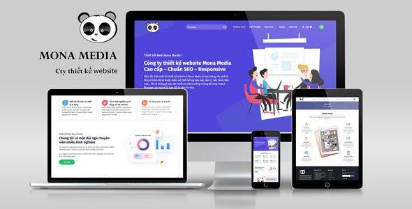 Mẫu website giới thiệu công ty lập trình web.
