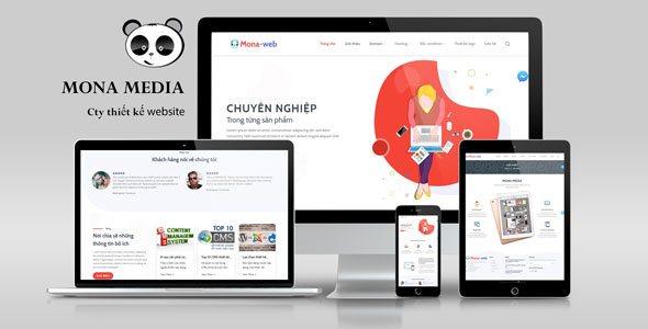 Mẫu website công ty cung cấp domain và hosting.