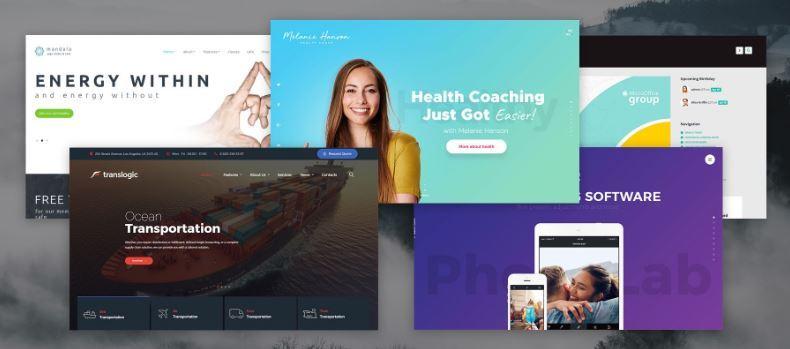 Thiết kế website tại TPHCM theo mẫu có sẵn