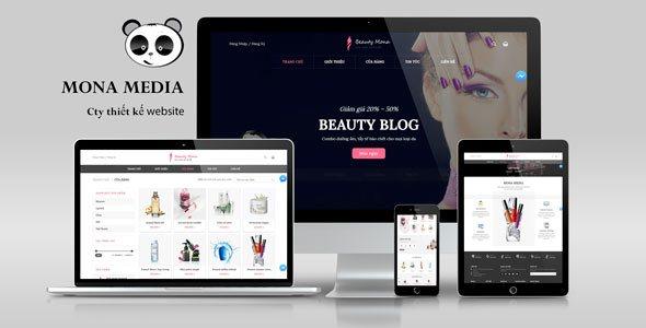 Mẫu website VaniHome