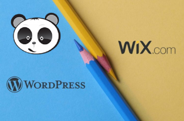 So sánh Wix và WordPress.
