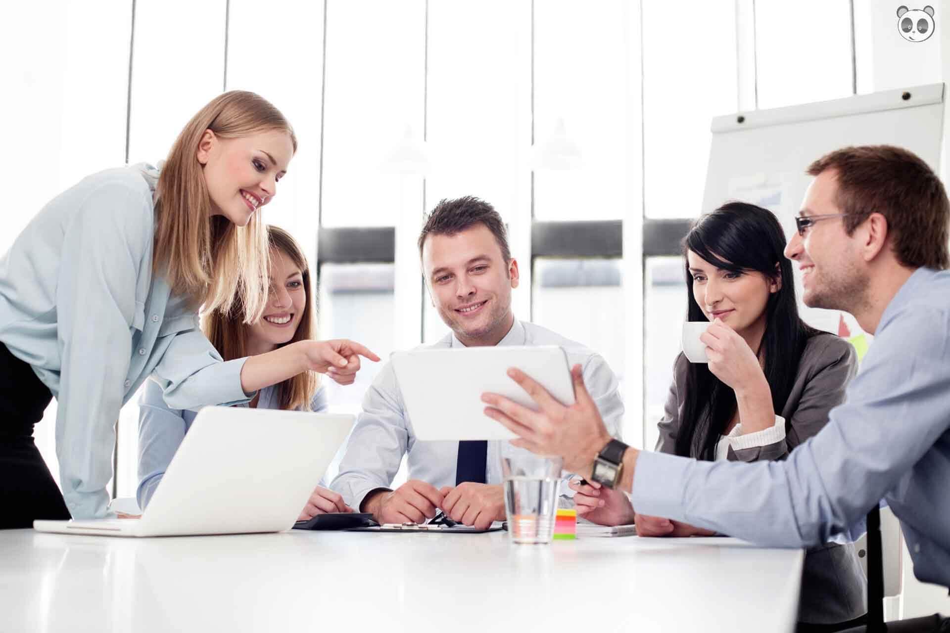 Một môi trường làm việc tốt sẽ giúp quản lý dễ dàng