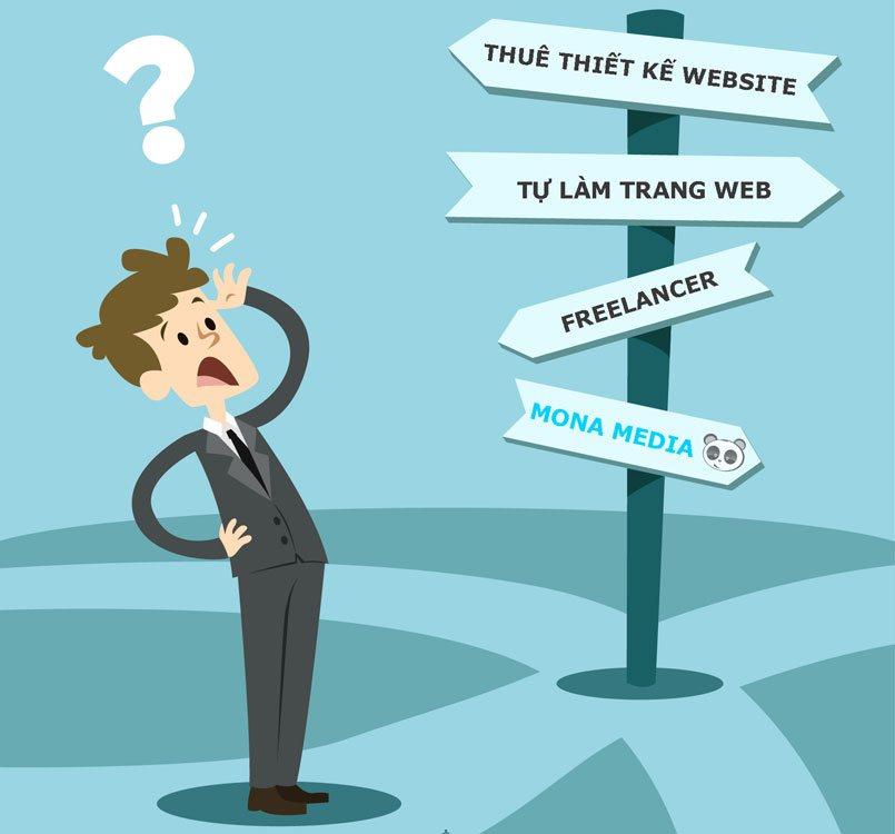Tại sao nên thuê thiết kế website