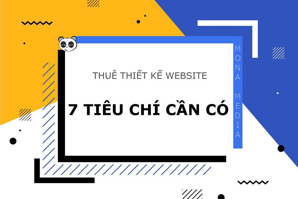 Thuê thiết kế website.