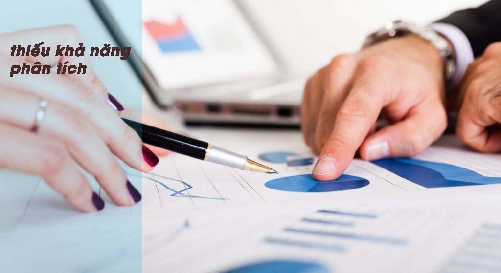 Thiếu phần mềm quản lý phân tích dữ liệu khiến nhà quản lý gặp nhiều khó khăn