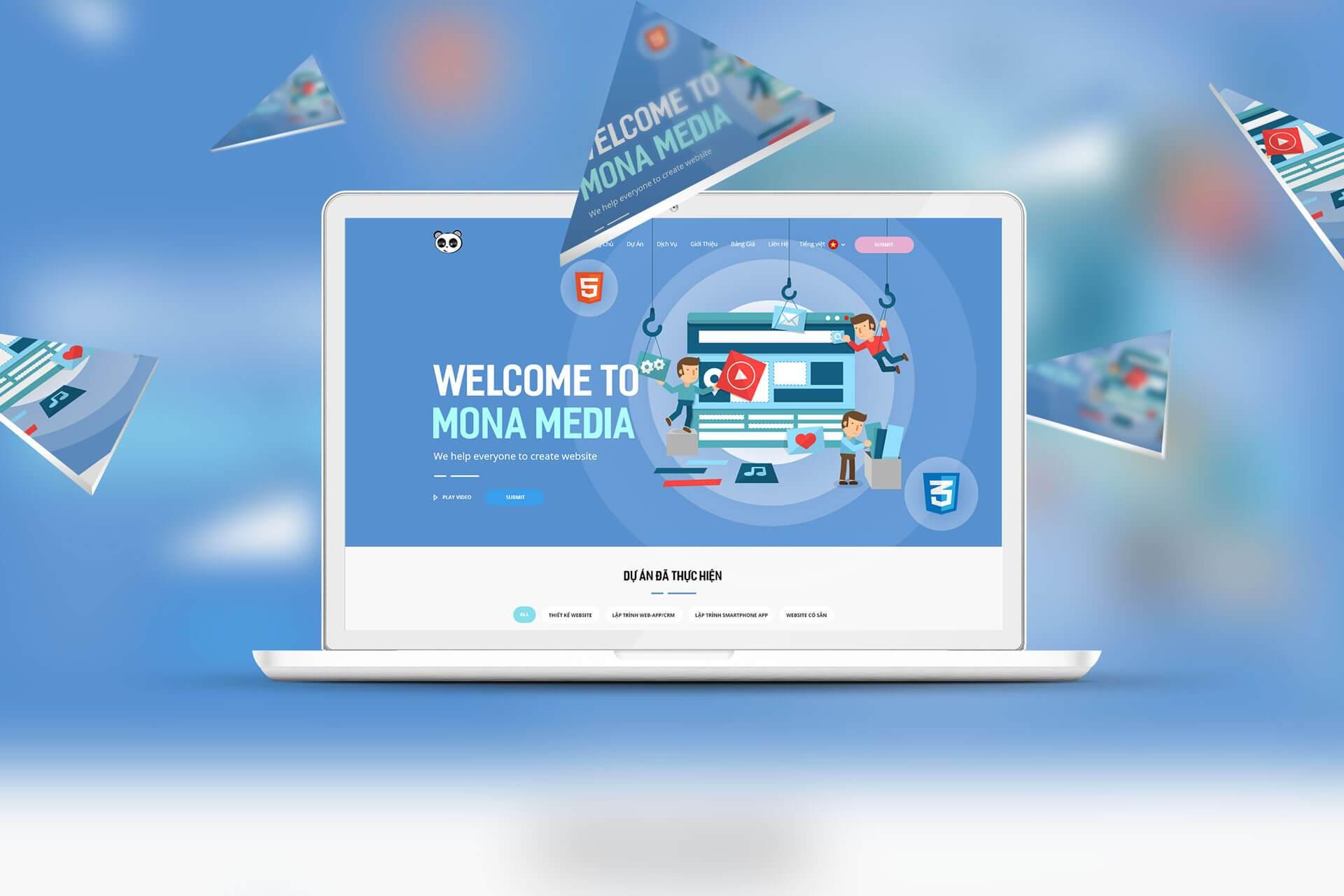 Thiết kế phần mềm quản lý bán hàng tại Mona Media
