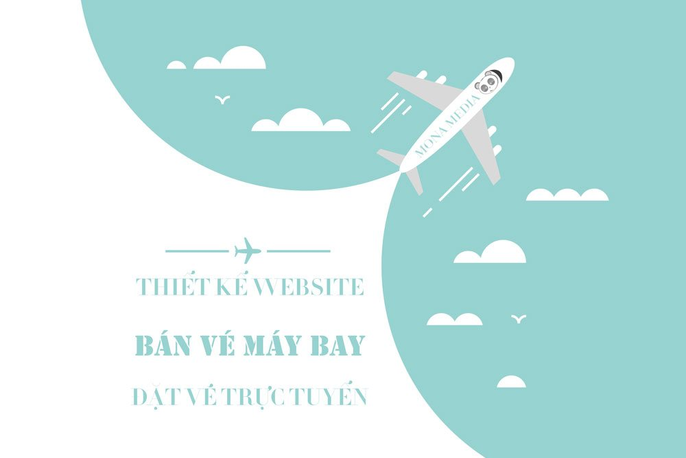 Thiết kế website bán vé máy bay.