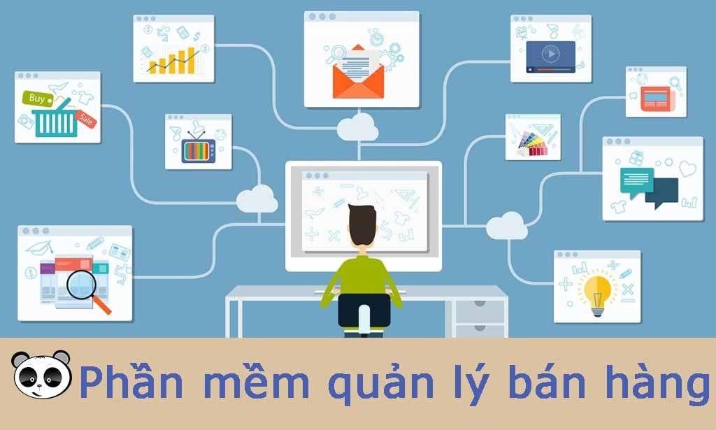 thiết kế phần mềm quản lý bán hàng