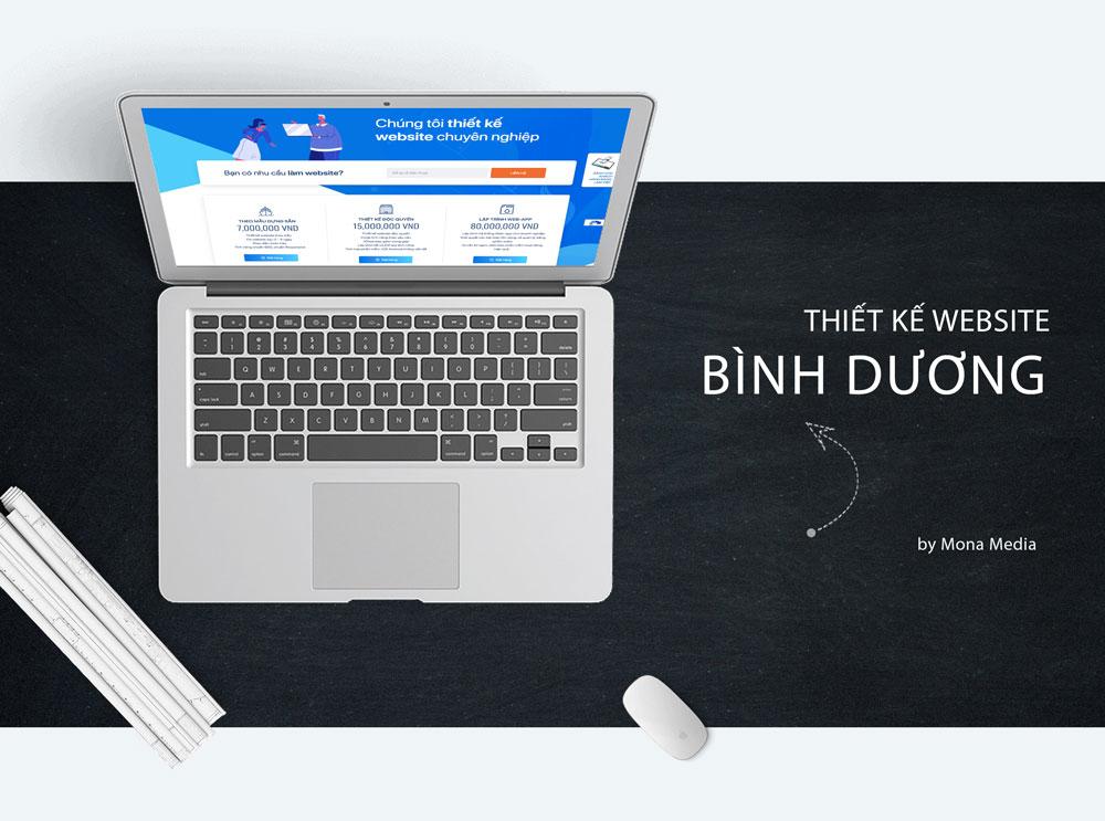 Thiết kế website bình dương chuyên nghiệp