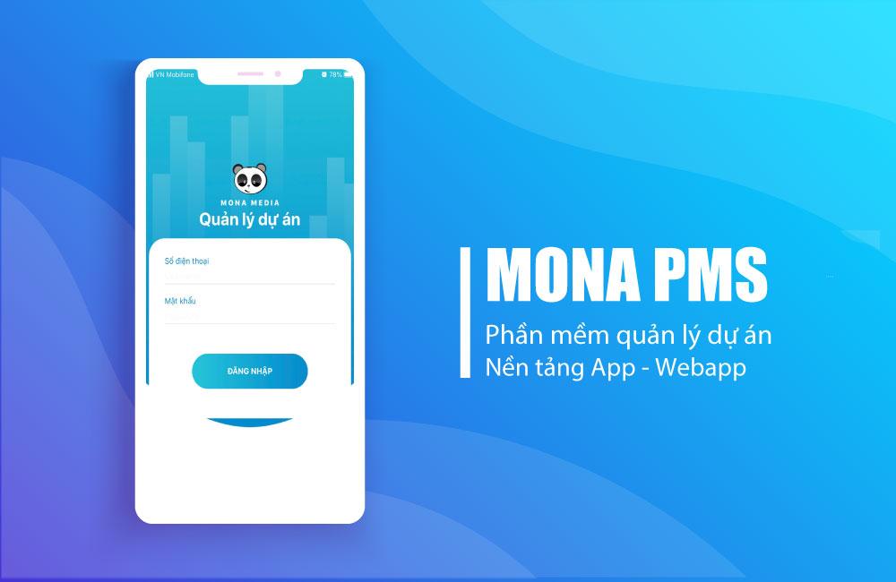 Phần mềm quản lý dự án khách hàng Mona PMS