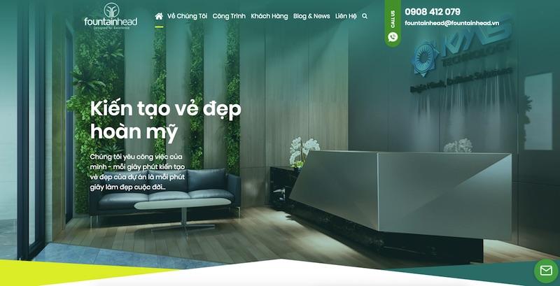 Thiết kế giao diện website độc quyền, đẹp