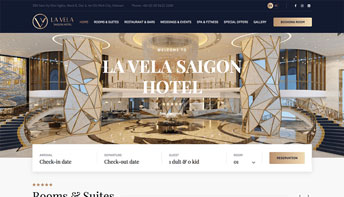 Web doanh nghiệp LavelaHotel
