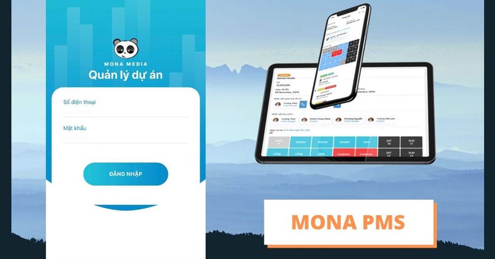 Phần mềm quản lý dự án PMS ở Mona Media