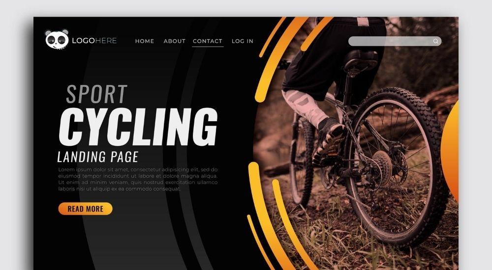 Thiết kế website thể hiện sự sinh động với font chữ độc đáo