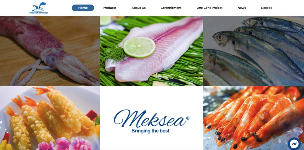 Thiết kế website thủy sản - nông lâm ngư nghiệp tìm đối tác nước ngoài