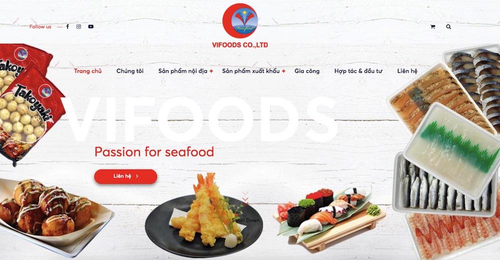 Website bán hải sải đa ngô ngữ