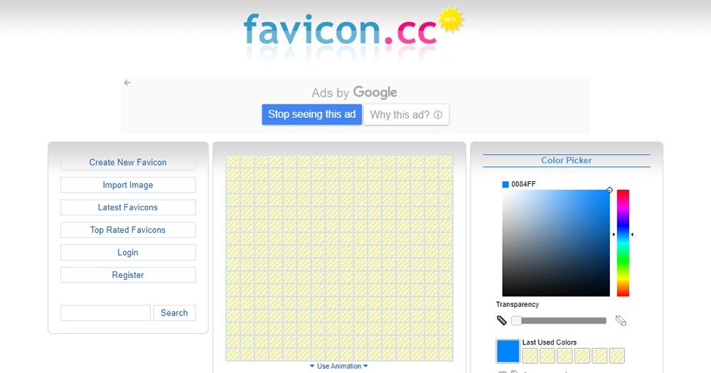 Favicon.cc sở hữu nhiều tính năng hỗ trợ