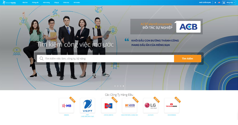 Phân cấp trang web hợp lý cùng giao diện dễ nhìn