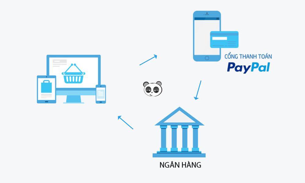 Quy trình thanh toán bằng cổng Paypal