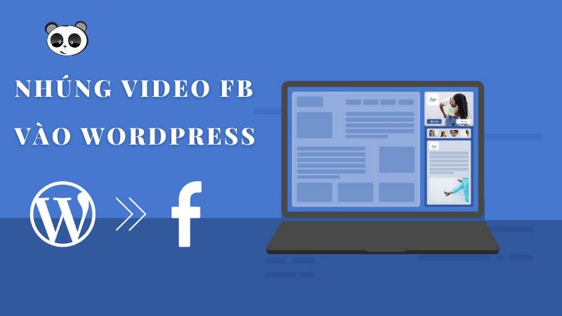 nhúng video facebook vào website