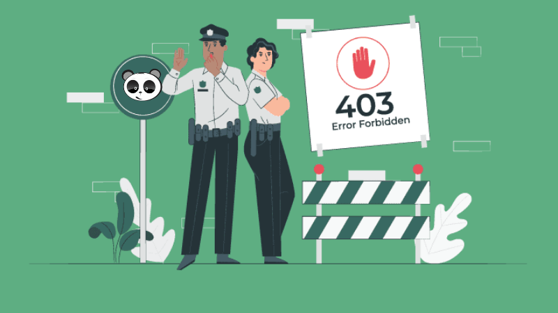 lỗi 403 forbidden