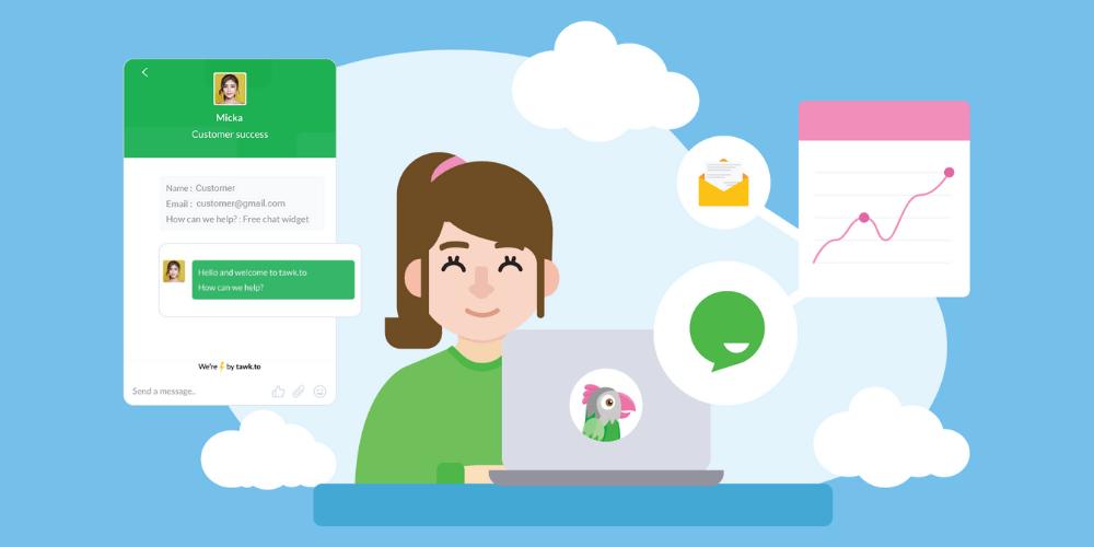 phần mềm live chat miễn phí tawk.to