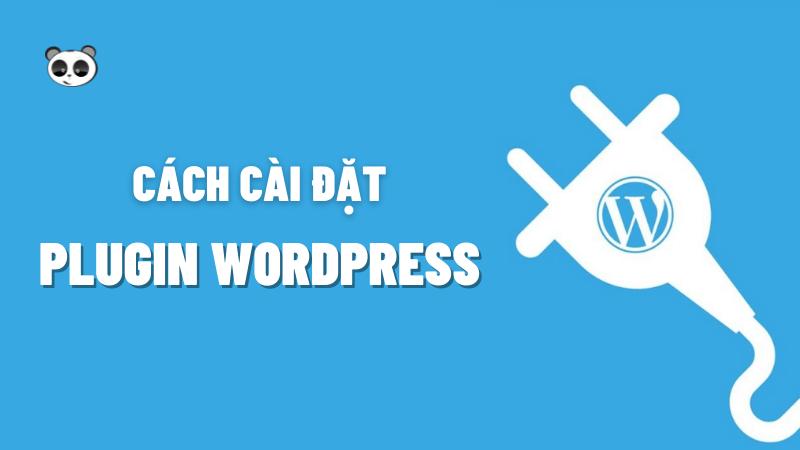 cách cài plugin cho wordpress