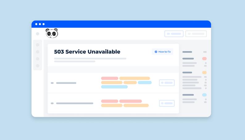 cách khắc phục lỗi 503 service unavailable