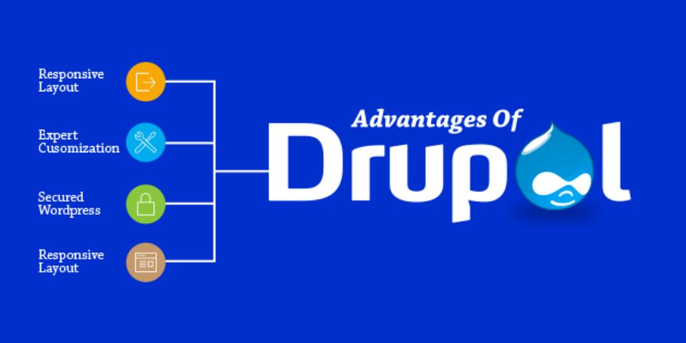 ưu điểm của drupal