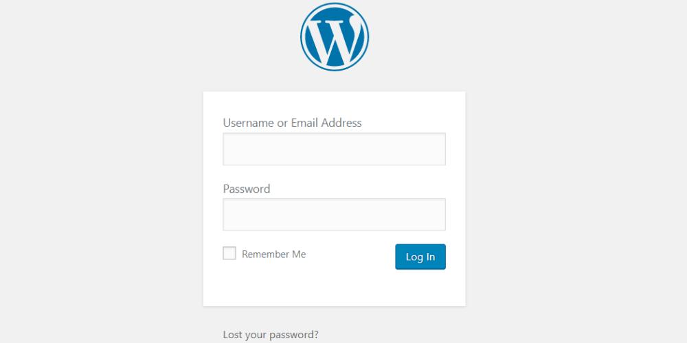 cách lấy lại mật khẩu wordpress admin