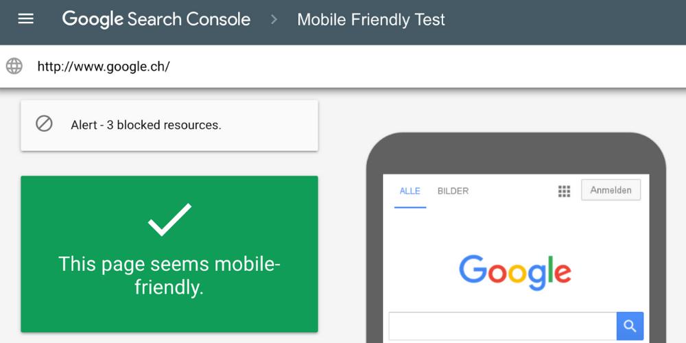 check mobile friendly